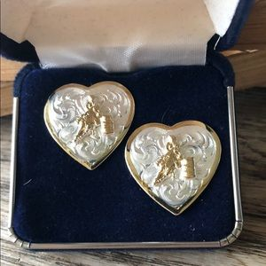 Montana Silversmiths Barrel Racing Earrings